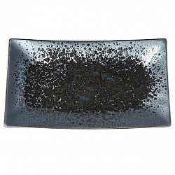 MIJ Talíř na sushi Black Pearl 33 x 19 cm